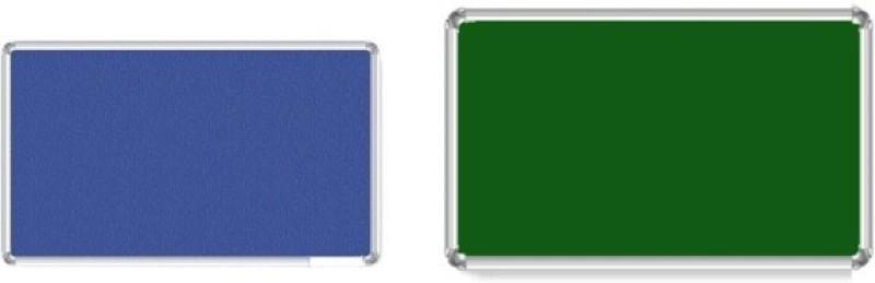 Jagdish Traders Concrete Board Bulletin Board(Blue, Green)