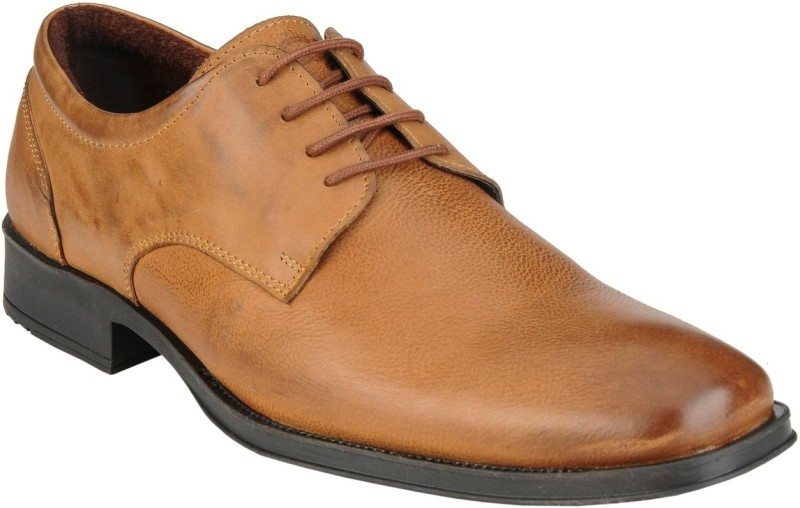 Delize Synthetic Lace Up For Men(Tan)