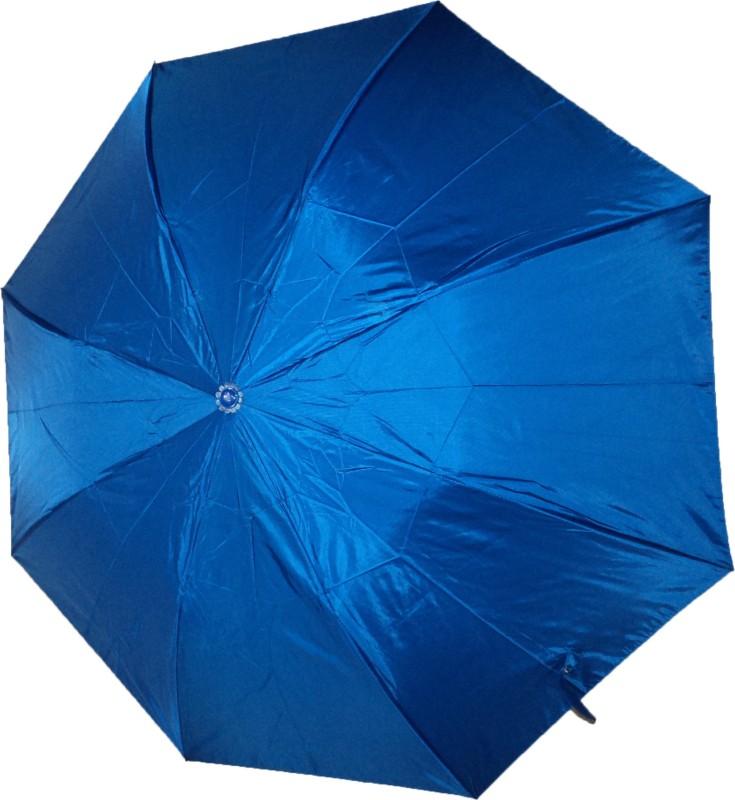 K.C Paul Soumi 2 Fold Umbrella(Blue)
