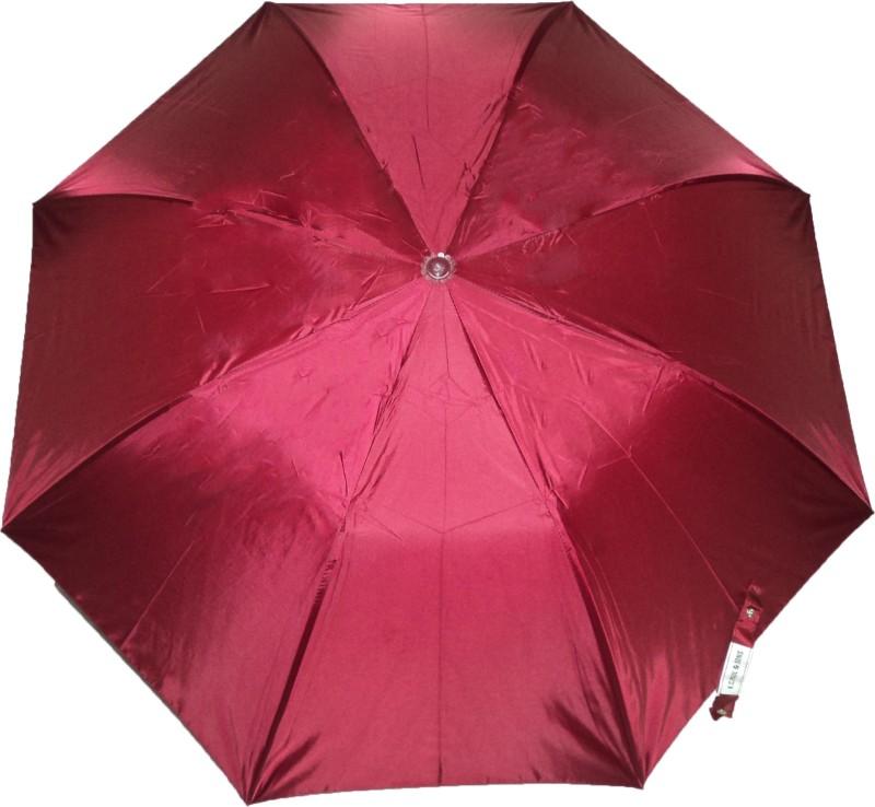 K.C Paul Soumi 2 Fold Umbrella(Maroon)