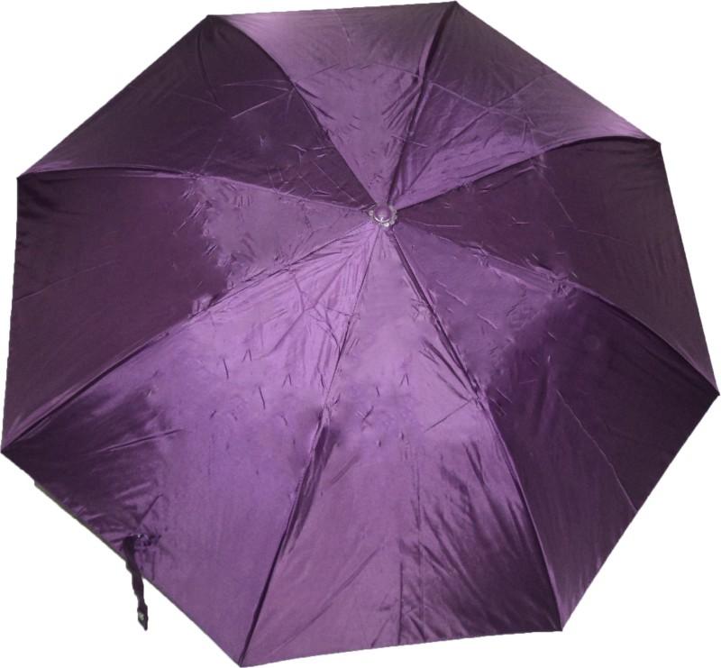 K.C Paul Soumi 2 Fold Umbrella(Purple)