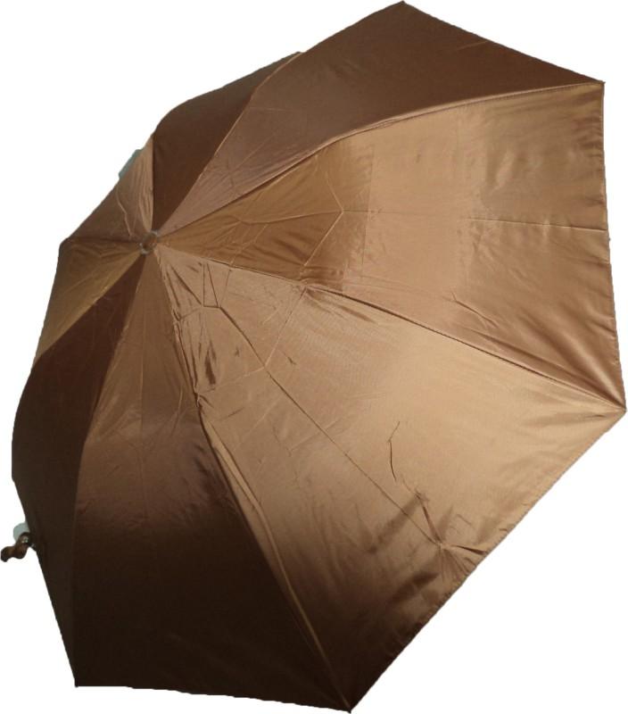 K.C Paul Soumi 2 Fold Umbrella(Brown)