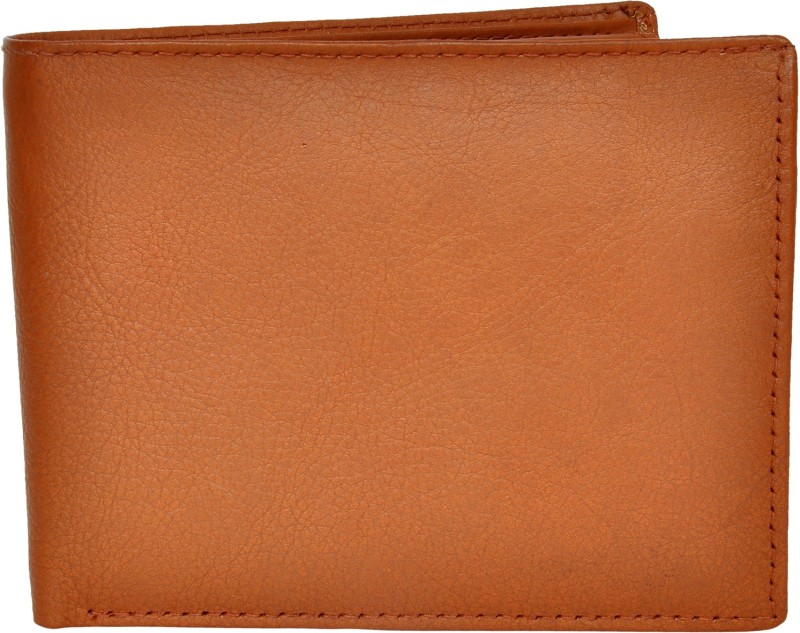 Chandair Men Brown Genuine Leather Wallet(12 Card Slots)
