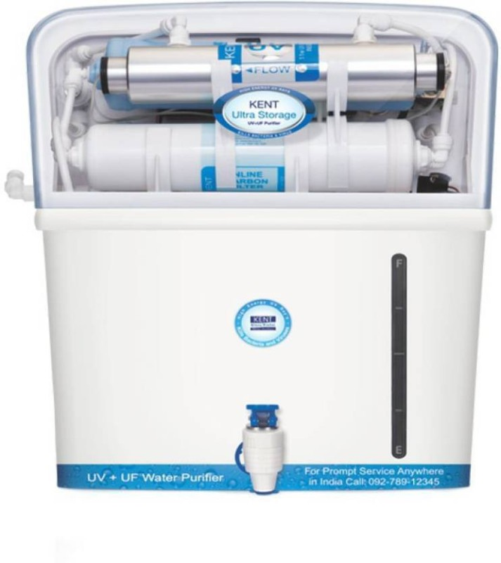 Kent ULTRA STORAGE Litre 7 L UV + UF Water Purifier(Blue)