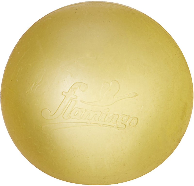 Flamingo Gel Exercise Ball Massage Ball(Pack of 1, Yellow)