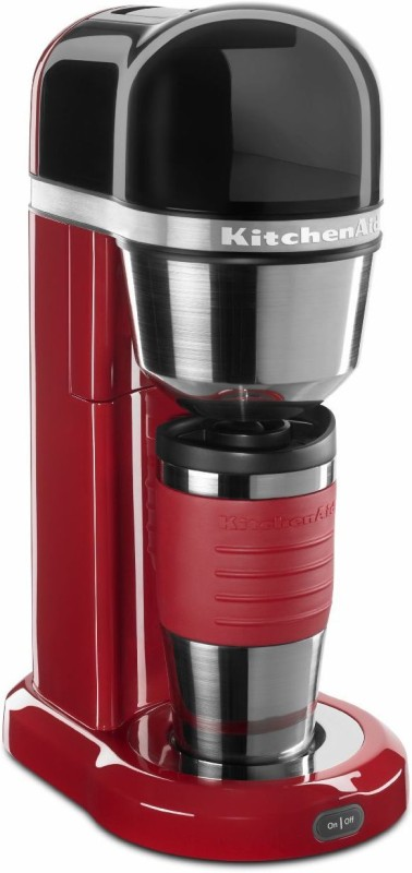 KitchenAid 5KCM0402BER 4 Cups Coffee Maker(Empire Red) KitchenAid Personal Coffee Maker Empire Red