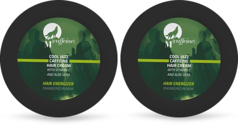 MCaffeine MCaffeine Caffeine Hair Cream 50 ml - Combo Pack of 2 For Men(Set of 2)