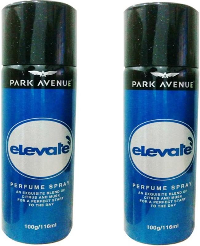 Park Avenue Elevate Deodorant Spray - For Men & Women(232 ml, Pack of 2)
