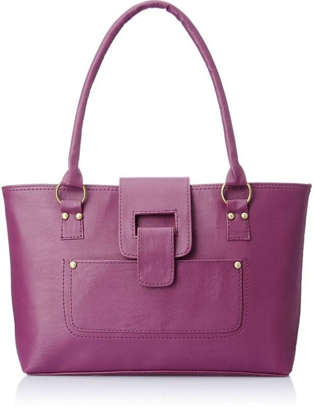 SAHAL Women Purple Hand-held Bag