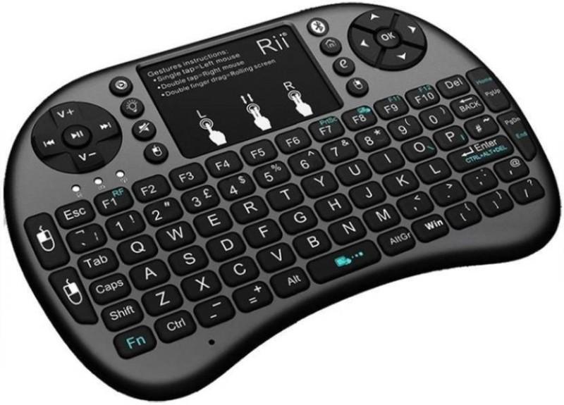 Doodads Bluetooth Tablet Keyboard Bluetooth Multi-device Keyboard(Black)