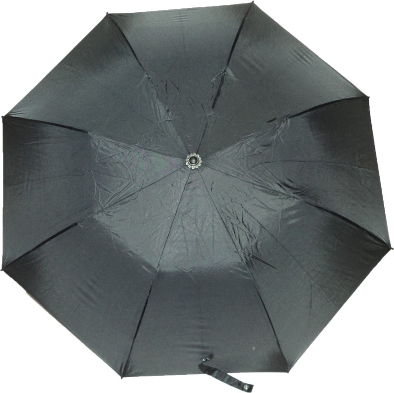 K.C Paul Master Two Fold Umbrella(Black)