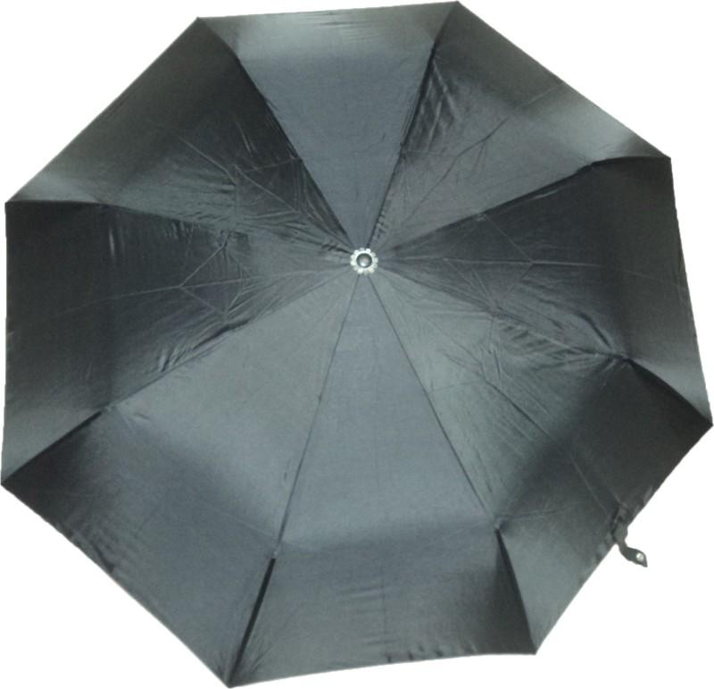 K.C Paul Master 3 Fold Umbrella(Black)
