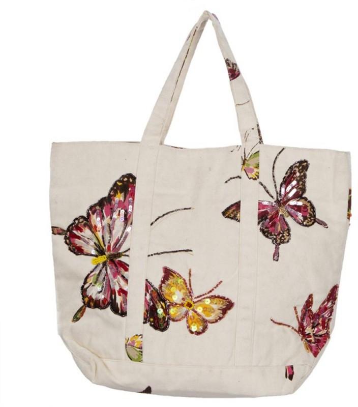 Miruna Designs Women White Hand-held Bag
