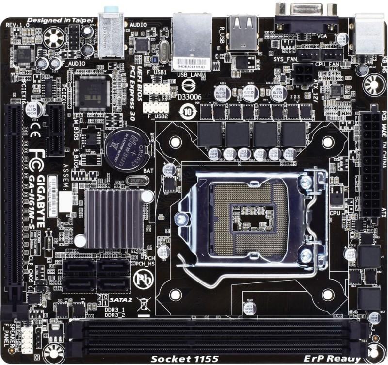 Gigabyte H61M-S Motherboard(Blue) image