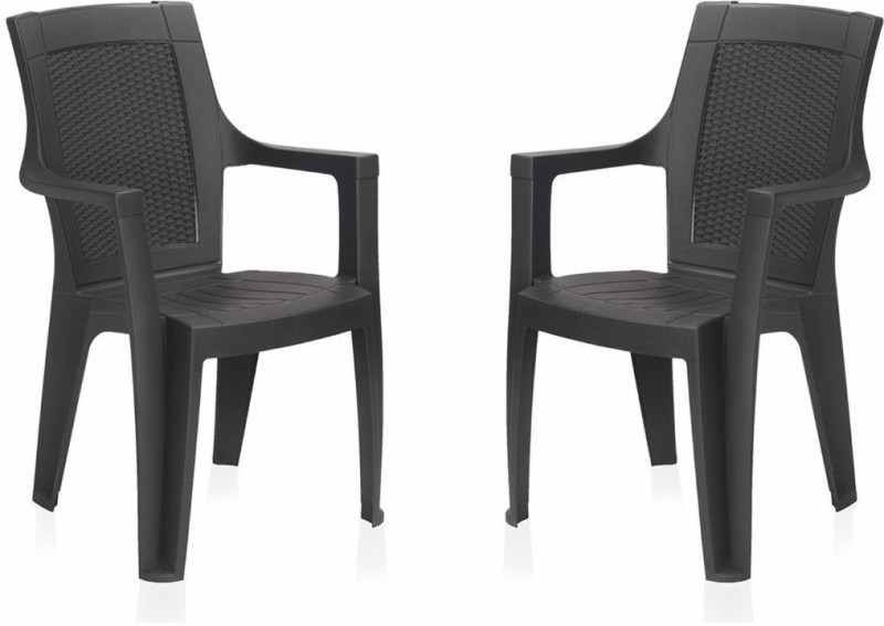 homegenic PP Moulded Chair(Finish Color - Plain Set of - 2)