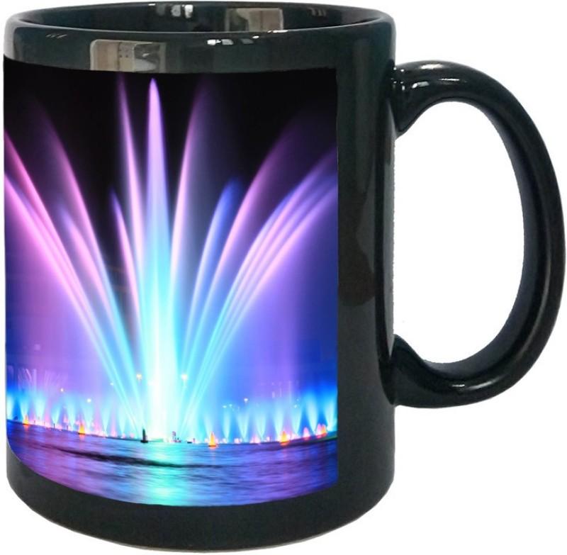 Arkist fountain in hala ludowa wroclaw 2560x1 Ceramic Mug(340 ml)