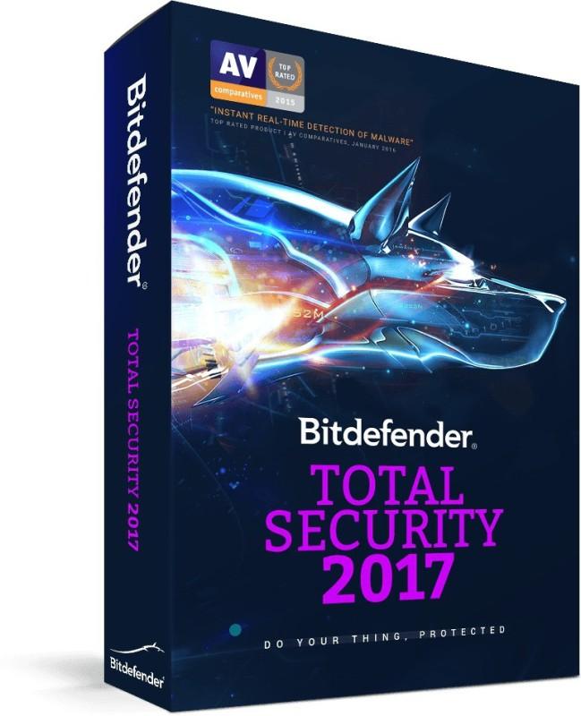 BITDEFENDER TOTAL SECURITY 2PC 1 YEAR