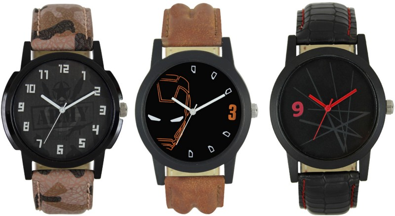 CM Casual Men Watch Combo With Stylish And Designer Dial Fast Selling 040 Analog Watch  - For Men