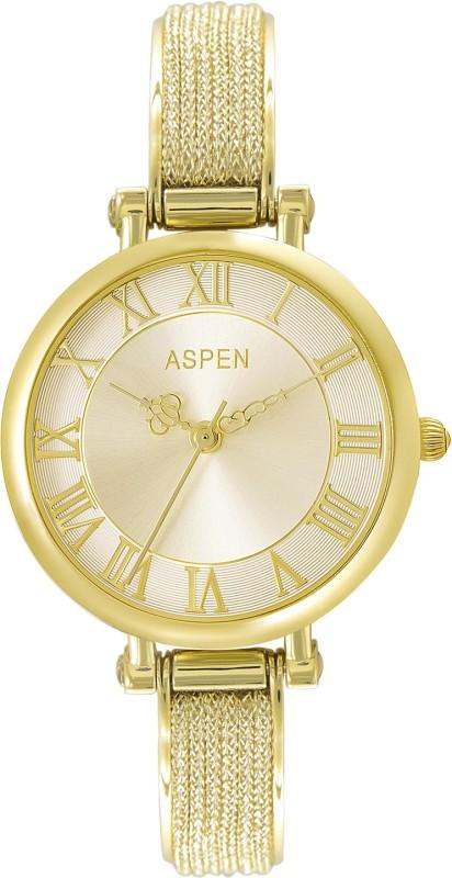 Aspen AP2012 Ionic Gold Plating Analog Watch - For Women