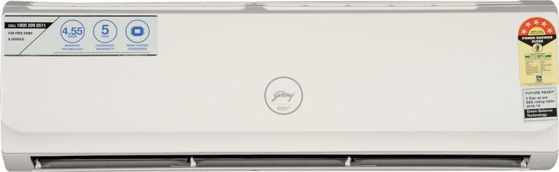 Godrej 1.5 Ton Inverter (5 Star) Split AC - White(GSC 18 GIA 5 AWOG)