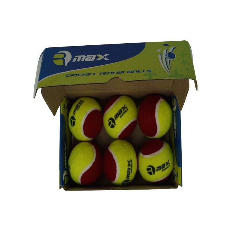 Rmax GenX Tennis balls (Pack Of 6)green,red Tennis Ball - Size: N/A(Pack of 6, red,green)