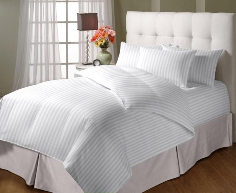 Cloth Fusion Queen Cotton Duvet Cover(White)