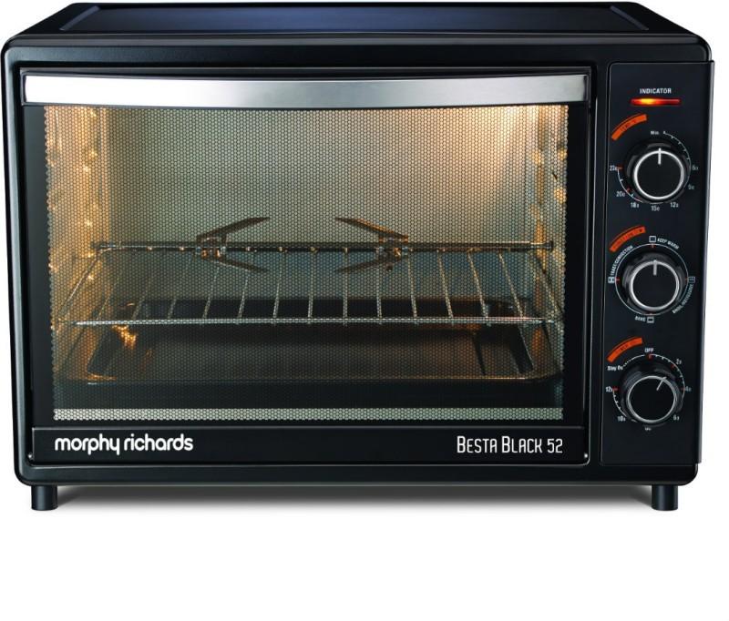 Morphy Richards 52-Litre BESTA BLACK 52 Oven Toaster Grill (OTG)
