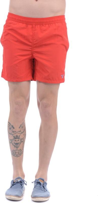 Gant Solid Men Red Boxer Shorts