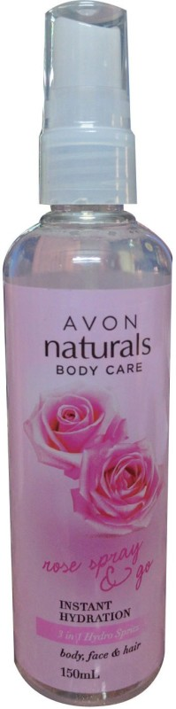 Avon Naturals Instant Hydration 3 in 1 Hydra Spritz body, face & hair(150 ml)