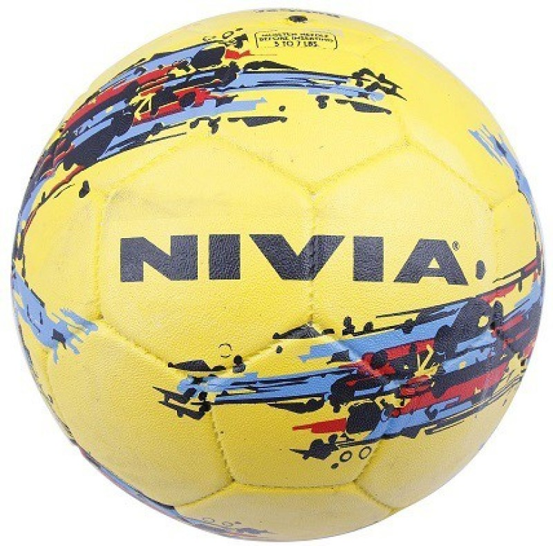 Nivia Storm Football - Size: 5(Pack of 1, Yellow)