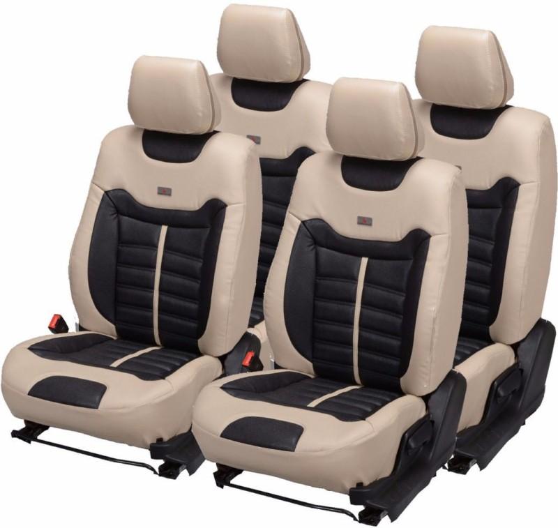 Pegasus Premium PU Leather Car Seat Cover For Maruti Alto(Detachable Head Rest, Mono Back Seat, With Back Seat Arm Rest, 5 Seater, 2 Back Seat Head Rests)