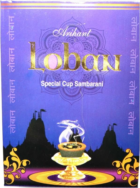 Arihant Incense Countrywide Loban Dhoop Cups Woody Dhoop Cone(Pack of 5)