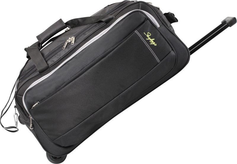 1ae2d54d1509 Skybags Cardiff (E) 25 inch 63 cm Duffel Strolley Bag(Black)