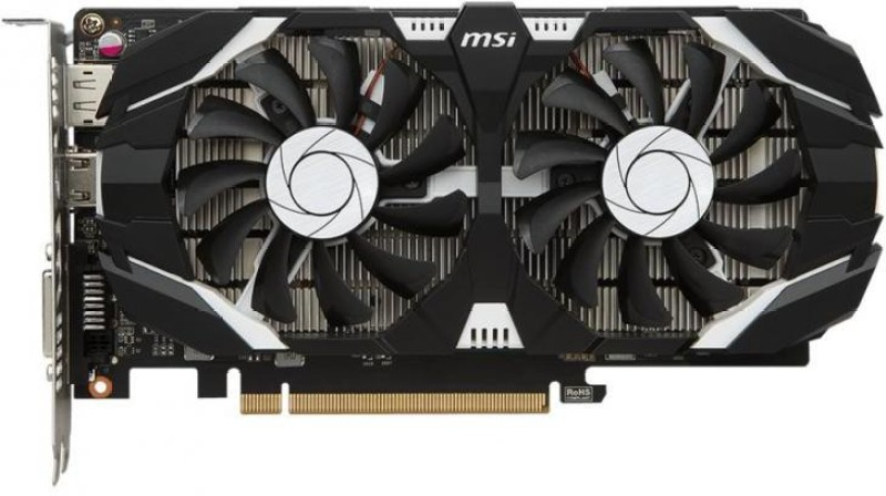 MSI NVIDIA GTX 1050 Ti 4 GB GDDR5 Graphics Card