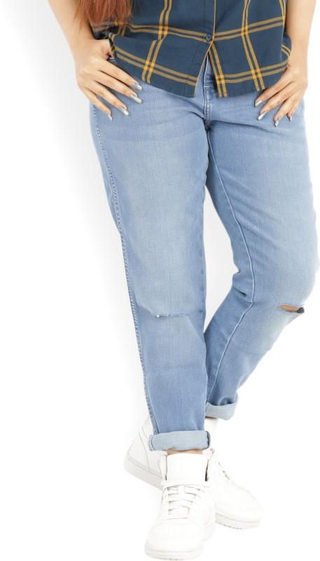 Wrangler Skinny Womens Blue Jeans