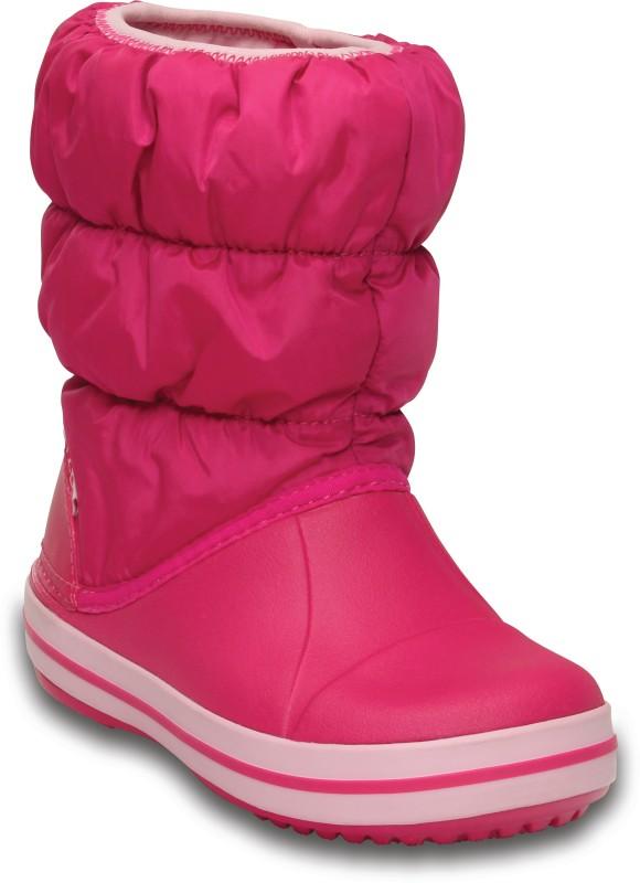 Crocs Boys & Girls Slip on Casual Boots(Pink)
