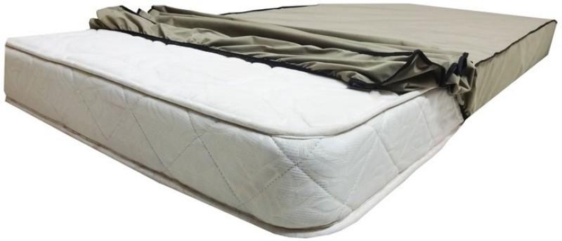 Glassiano Elastic Strap Standard Size Waterproof Mattress Protector(Beige)