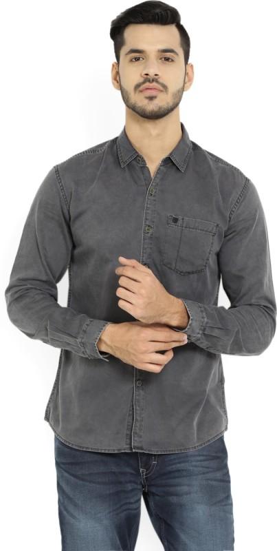 Wrangler Mens Solid Casual Shirt