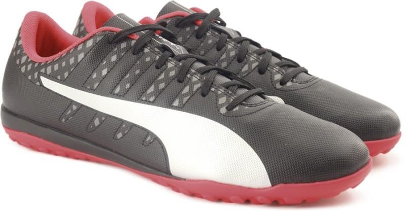 Puma evoPOWER Vigor 4 TT Football Shoes For Men(Black)