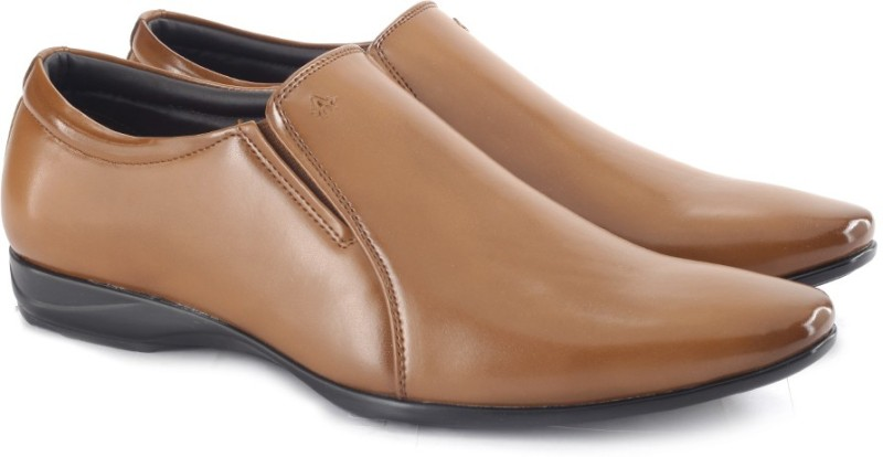 Arrow Gabriel Slip On shoes For Men(Tan)