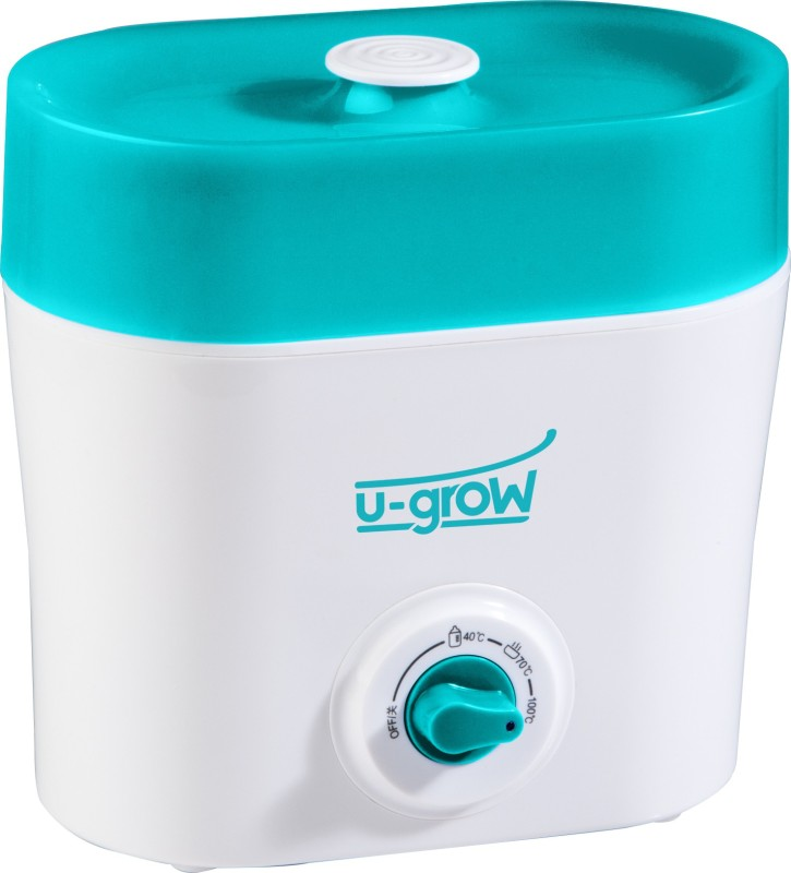 U-Grow Baby Food Warmer & Sterilizer - 2 Slots(White, Torquoise)