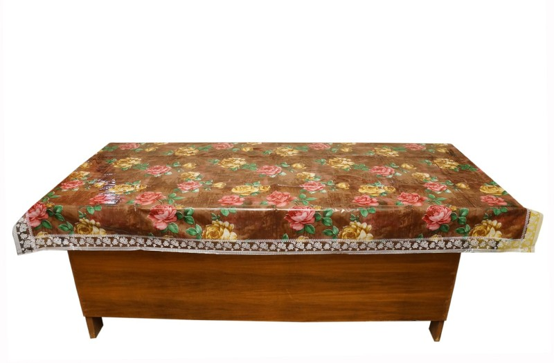 Aarushi Printed 6 Seater Table Cover(Multicolor, Plastic)