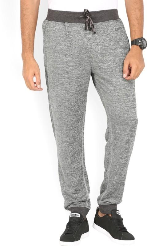 John Players prajwal Solid Mens Grey Track Pants