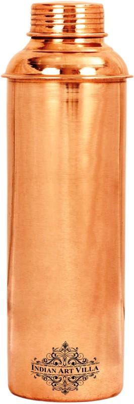 IndianArtVilla Copper Bisleri Design Water Bottle, Benefit Yoga Ayurveda Healing 800 ml Bottle, Flask(Pack of 1, Brown)
