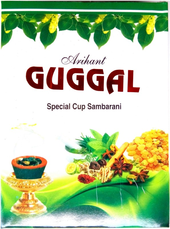 Arihant Incense Countrywide Guggal Cups Woody Dhoop Cone(Pack of 5)