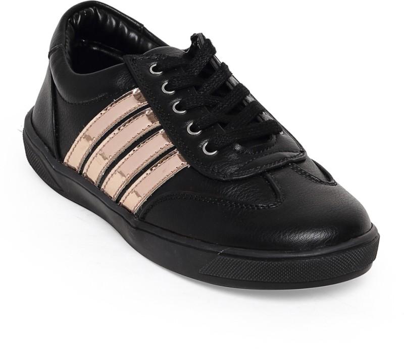 Bruno Manetti Boys & Girls Lace Sneakers(Black)