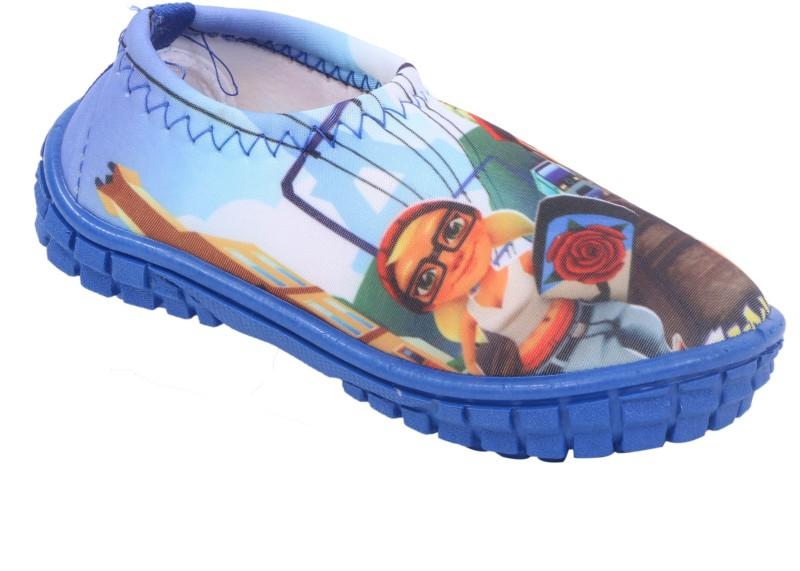 GNX Boys & Girls Slip on Loafers(Blue)