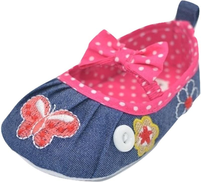 Baby Bucket Girls Slip on Espadrilles(Pink)