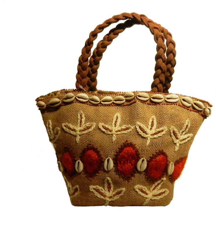 Miruna Designs Tribal Pot Puri Potli(Khaki)