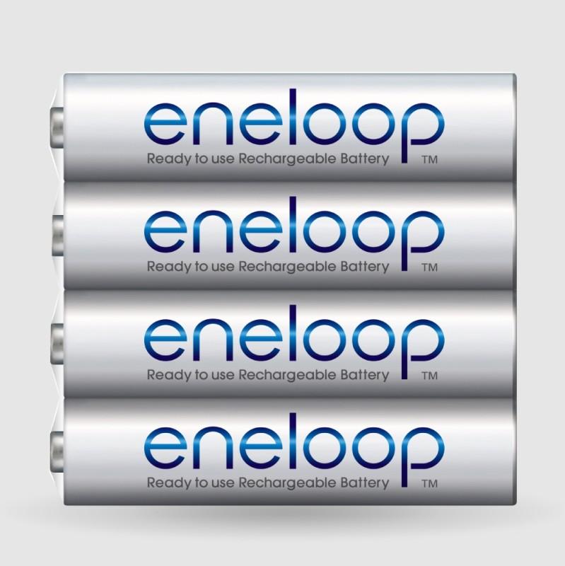 Panasonic Eneloop Shrink AAA Multi Use Rechargeable Ni-MH Battery